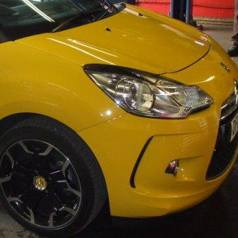 Yellow citroen